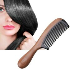 Professional Hair Comb Horn andWood Natural Sandalwood Fragrant Hair Style Brus