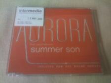 AURORA / LIZZY PATTINSON - SUMMER SON - 6 TRACK PROMO CD SINGLE