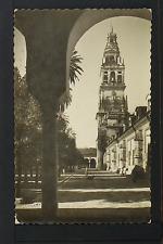 2272.-CORDOBA -25 Patio de los Naranjos y Torre de la Catedral