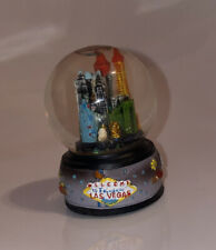 Las Vegas Nevada Collectible Mini snow globe Featuring City Scape And Gambling