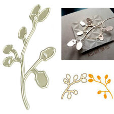 Branch Leaves Metal Cutting Dies Stencil for DIY Scrapbooking Paper Card Decor