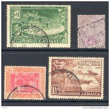 JAMAICA, postmarks Moneague, Falmouth, Chapelton, Montego Bay (D)