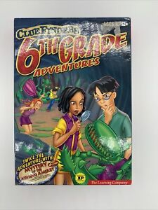 ClueFinders 6th Grade Adventures  Sixth Learning Windows Sealed Clue Finders
