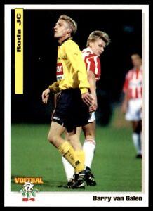 Panini Voetbal Cards 94 Barry Van Galen Roda JC No. 81