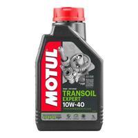Motul Transoil Expert 10W-40 Motorcycle Gearbox Oil Transmission Fluid - 1 Litre