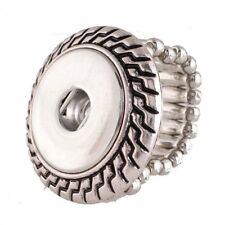 Stretch Ring Snap Chunk 18 20MM Interchangeable Jewelry fits Ginger Snaps
