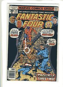 Marvel Comics Fantastic Four #187 Nostalgic Bronze Trouble Times Two
