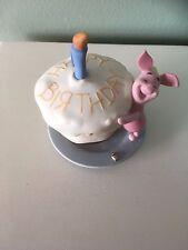 Disney Pooh and Friends figurine, Piglet, Make a Birthday Wish. Rare! So cute!