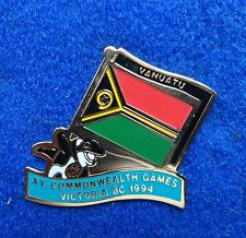 Vanuatu Colorful South Pacific Islands Country Flag Orca Killer Whale Lapel Pin