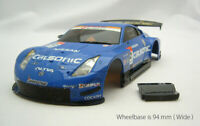 "USED Junk Defect KYOSHO MINI-Z ASC Body "" CALSONIC IMPUL Z 2005 GT500 """