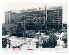 1991 Disneyland Hotel & Resort Anaheim California Press Photo
