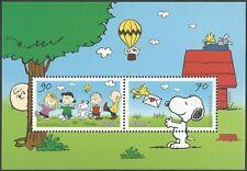 Peanuts - Block 82 - gelber Fleck auf dem Dach der Hundehütte - postfrisch