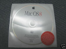 Apple Power Macintosh OS 8.0 Software Install / Restore CD ~ Vintage- PPC Models