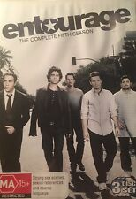 TV Entourage Season Five 3-Disc Set Region 4 DVD VGC