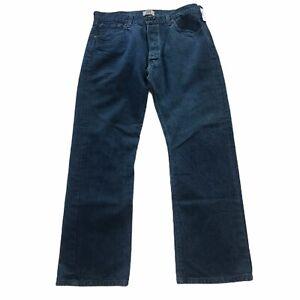 Levi's 501 Men's Straight Leg Button Fly 5 Pocket Jeans Size 40 x 32 Med Wash