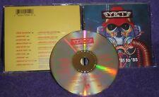 Y & T BEST OF 81 TO 85 CD ORIGINAL 1990 ULTRA RARE OOP A&M RECORDS RATT KISS