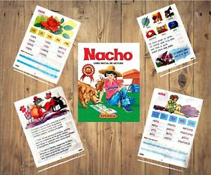 BOOK NACHO libro inicial de lectura - Spanish Colombia  Edition / Español
