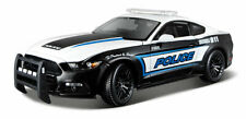 MAISTO 1/18 Scale - 2015 Ford Mustang Police 911 - Diecast Model Car