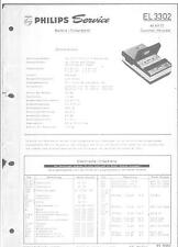 Philips Service Manual para am 3302