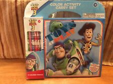 Disney Pixar Toy Story 3 Toys At Play Color Activity Carry Set MIP