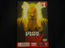 MArvels Iron Fist Living weapon issue 1 1st print (2014)  (B29)