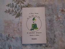 Brief History of the Rise and fall of Leprechaun Civilization Patrick F. O'Mara