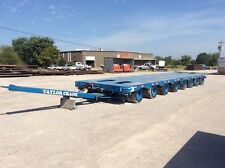1972 Scheuerle 8 Line Trailer, (Two 4-Line Hydraulic Trailers)