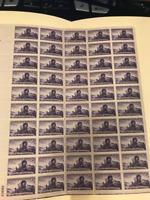 US MINT SHEET SCOTT#950,3C STAMP UTAH CENTENNIAL SHEET OF 50 MNH OG CV $18.00