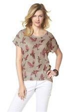 Shirt mit Vogelprint von Tamaris Gr.38 NEU