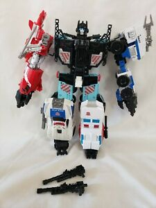 Transformers 🔥Combiner Wars🔥Defensor W/Rook Complete AUTHENTIC
