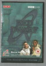 RED DWARF V - UK REGION 2 DVD (2-DISC SET) - BBC - FIFTH SERIES 5