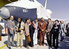 Star Trek Cast Space Shuttle PHOTO Enterprise NASA Mr. Sulu, Dr. Spock, Uhura