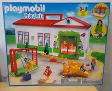 Playmobil 5606 City Life Jardín de Infancia Guardería Preescolar Parque Infantil Juguete Nuevo Navidad