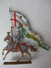 PLAT D ETAIN - BANNIERE DES ROIS D ANGLETERRE = RICHARD VII ROI DE 1485 A 1509