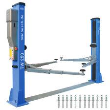 Twin Busch ® NEUE 2 Säulen Kfz Hebebühne 5000kg Heavy Line - TW 250