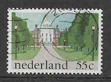 NETHERLANDS POSTAL ISSUE- 1981 USED COMMEMORATIVE HUIS DEN BOSCH, PALACE, HAGUE