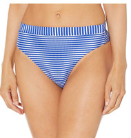 Seafolly Women's High Rise Rio Bikini Bottom Swimsuit in Cobalt US Size 4, NWT