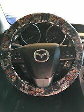 Star Wars Steering Wheel Cover with Poe, Rey, Finn, BB-8, and Han Solo (blocks)