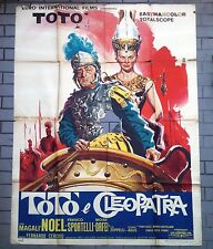 TOTò E CLEOPATRA manifesto poster affiche Noel Megall Orfei Roma Biga