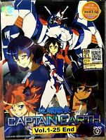 Captain Earth (Chapter 1 - 25 End) ~ All Region ~ Brand New & Factory Seal ~