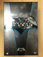 Hot Toys MMS 349 Batman v Superman Dawn of Justice (Armored Batman) 12 inch USED