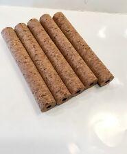 "Cork Handles Smokey Burl, Set of 5, 8"" X 1.20"" X 3/8"" Hole. Great Buy!"
