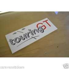 ERIBA Touring GT1 - (PRINTED) - Caravan Roof Sticker Decal Graphic - SINGLE