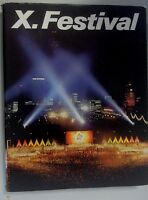 X. Festival Weltfestspiele der Jugend und Studenten Berlin 1973 DDR GDR Bildband