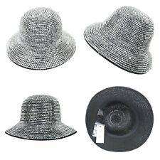 Rhinestone Tachonado sombrero del cubo Bling Bling Sombrero Hip Hop Gorros  Sombreros De Moda Headwear cdd32975321