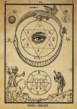 Alchemy -  Omnia Vnvs Est -  Eye of Cleopatra  :  Fine Giclee Print