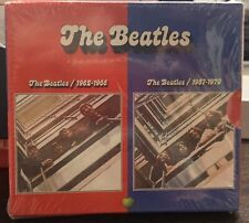 👽 THE BEATLES Capitol 2009 1962-1966 RED & 1967-1970 Box Set Sealed NEW 👽