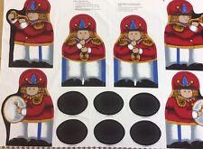 Panel de caracteres Toyland-Banda Puerta-Stop/Bolos - 100% Tela De Algodón