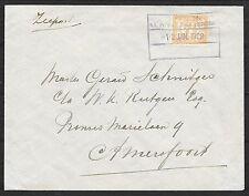 Surinam covers 1928 Shipcover KNSM SS PR.FREDERIK HENDRIK