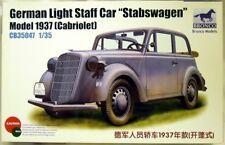 Bronco CB 35047: Stabswagen Modell 1937 Cabriolet in 1/35, N E U & OVP